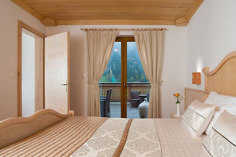 Double room with balcony Bed