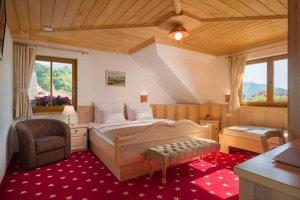 Triple Room Bedroom view